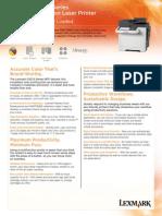 Lexmark+CX510+Series+Spec+Sheet