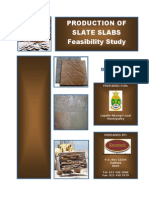 Slate Excavation and Tile Manufacturing Feasibility