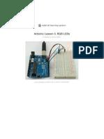 Adafruit Arduino Lesson 3 Rgb Leds