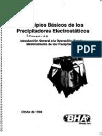 Principios Básicos Precipitadores Electrostáticos
