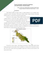 Modalitati de Utilizare a Apei Raului Bistrita in Sectorul Piatra Neamt-Bicaz