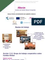 Presentación POCTEFEX ALBORAN