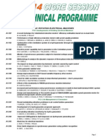 Technical Program2014