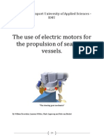 The Use of Electric Motors for the Propulsion of Seagoing Vessels