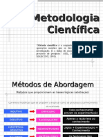 MÉTODOS de ABORDAGEM - Indutivo, Dedutivo, Hipotético-Dedutivo