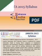 AMRITA Engg. by Entranceindia
