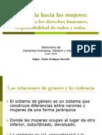 Unc Seu Maite Rodigou - Violencia Hacia Las Mujeres