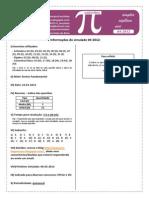 simulado de matemática n° 2