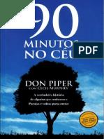 90 Minutos No Ceu - Don Piper