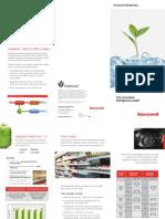 Innovative Refrigerant Leader Genetron Products Honeywell