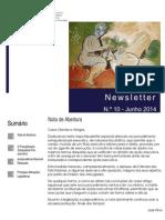 Newsletter CAMMP n.º 10 de Junho de 2014
