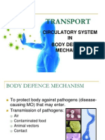 Body Defence Mechanism & Immunity