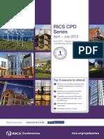 1363296092RICS CPD Series Brochure