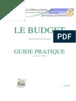 Guide Pratique - Budget- 10- 2009