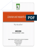 Librarian and Research Writing - ALAP 2014