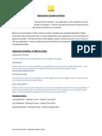 Guide to Applying to Savills - Summer Scheme 2014