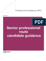 Senior Professional Guidance Europe March 2013