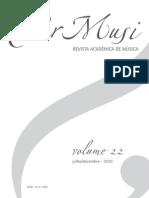 Neder, Alvaro. O Estudo Cultural... Per Musi 22 (Publicado)