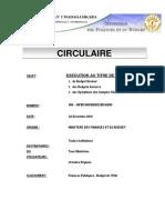 Circulaire 2011