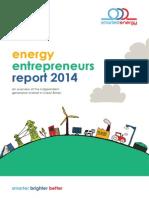 SmartestEnergy Energy Entrepreneurs Report 2014