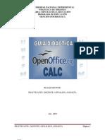 hoja de calculo excel open office