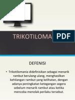 trikotilomania ppt