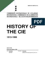 CIE 82 - 1990 History of the CIE