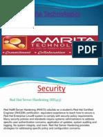 Amrita Technologiesppt