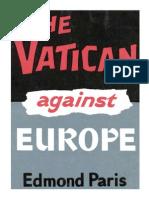 The Vatican Against Europe by Edmond Paris