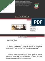 SEMINÁRIO EUTANÁSIA