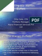 Investing Like Warren Buffett