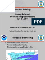 NWS briefing July 2