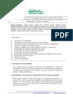 Procès Verbal AGA 03-07-2013