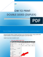 How to Print Double Sided