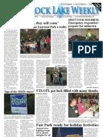 White Rock Lake Weekly 11-27-2009