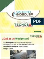 Biobolsa Biogas Tecnosol