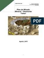 189220023 Plan de Minado Tucari MeM 2010