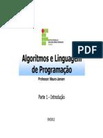 Algoritmos e Linguagem -1