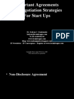 Important Agreements for Start Ups
