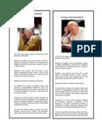 Oración a San Juan Pablo II