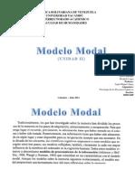 Modelo Modal - UNIDAD II