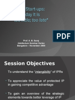 IP Management and Start Ups