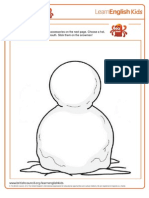 Craft Snowman 1