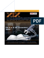 Caderno IC 2012 XIX Fórum de IC (1)