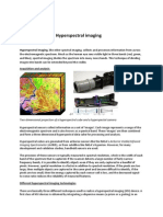 Notes on Hyperspectral Camera