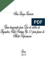 TCC - 2012 - Uma Transcrição Para Duo de Violões Do Rigaudon, Suite Antique Op. 11 Para Piano de Alberto Nepomuceno