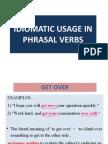 Week3idiomatic Usage in Phrasal Verbs Evonne n Zizi