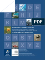 1043 Eng Fre Rus Spa International Glossary of Hydrology