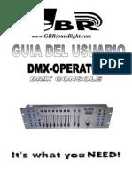 Consola Dmx