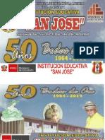 Banner Bodas de Oro - Colegio San Jose